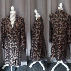 George Floral Coat